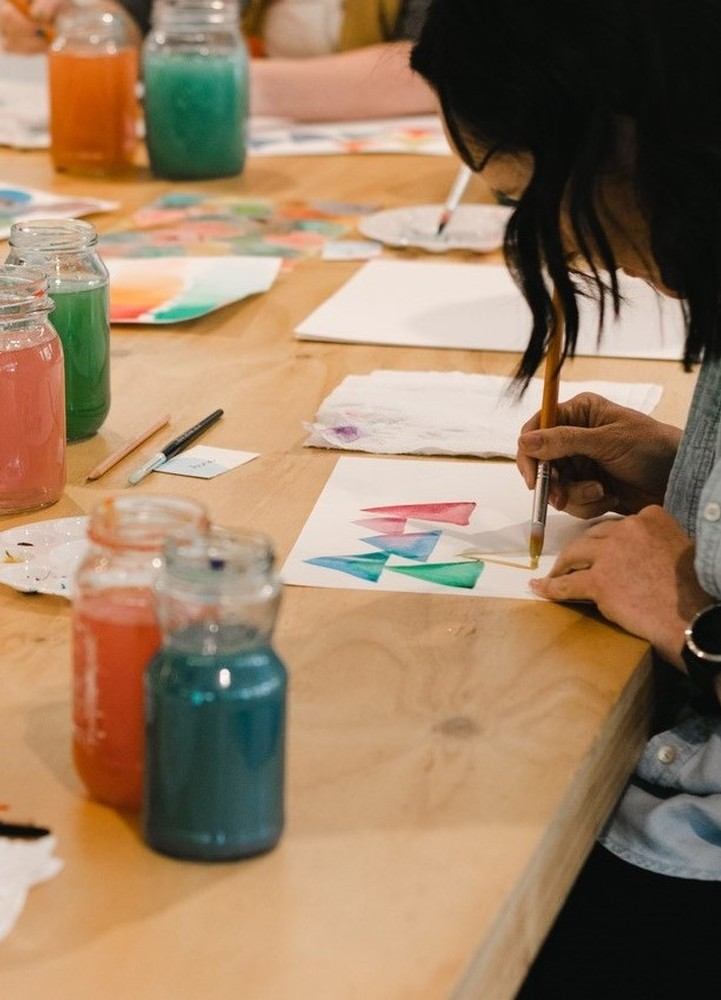 Whimsical Water Colours + Mrs Zema's Lunch | Sat 15th May 10.30am